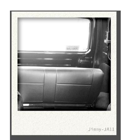 画像:ジムニーJA11車内2