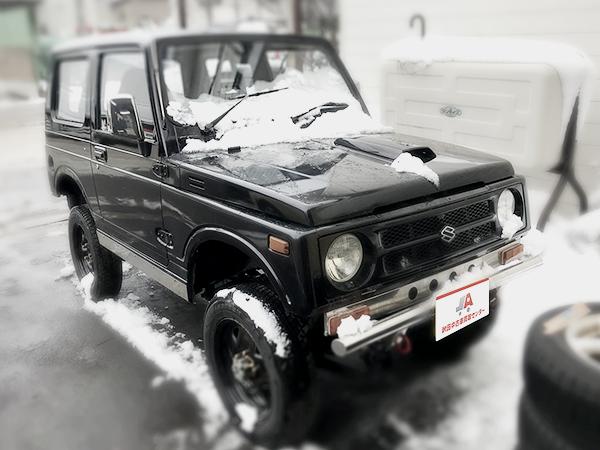 ジムニーJA11フロント秋田中古車買取センター